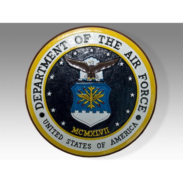 United States Department Of The Air Force Seal Plaque